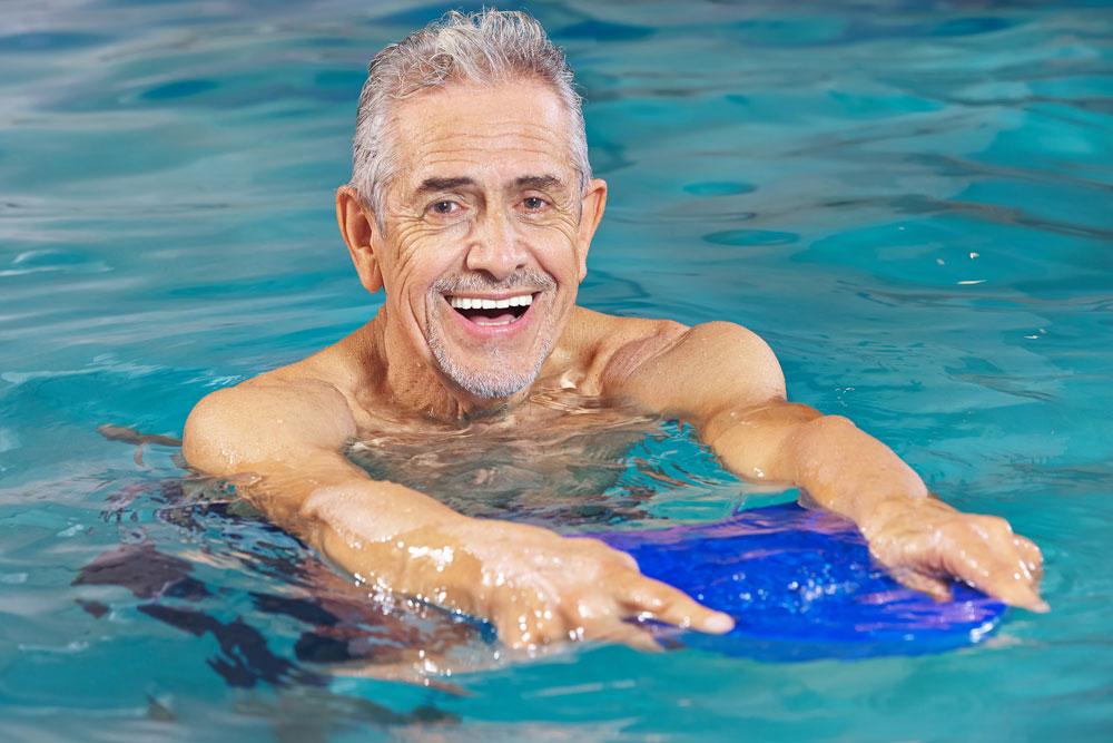 Erwachsenenschwimmen
